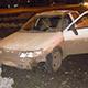 ДТП на ул. Тургенева: авто занесло из-за наледи
